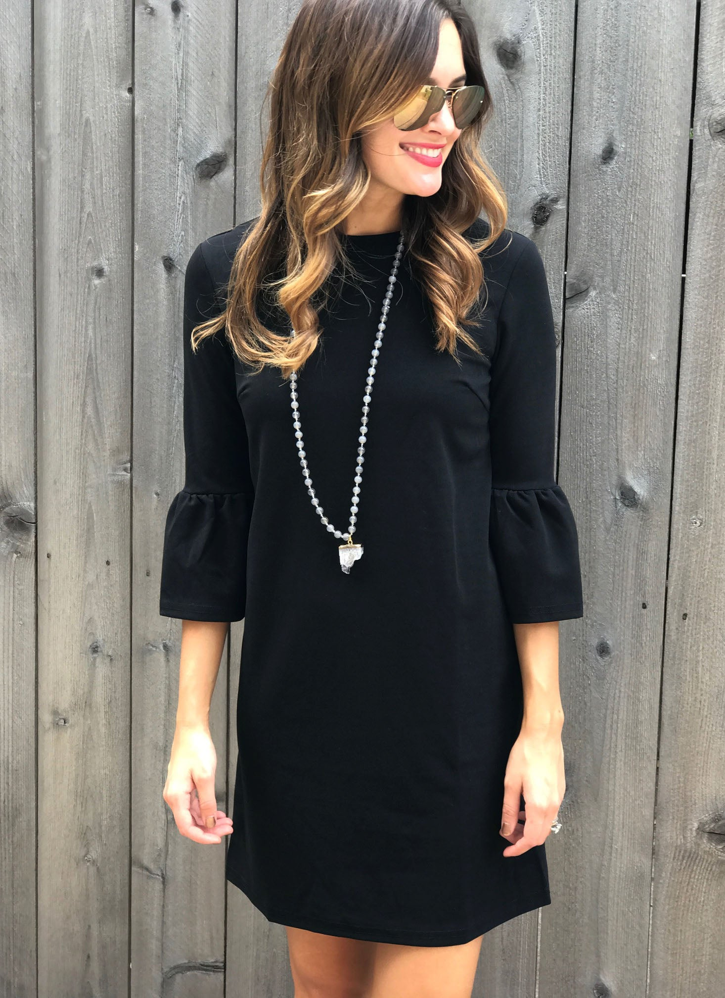 Bridger Dress in Black