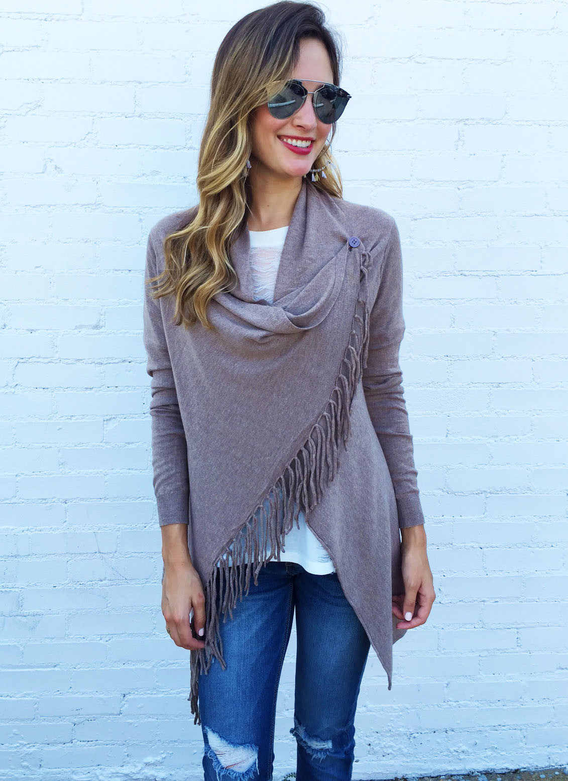 Scarlett Sweater in Taupe