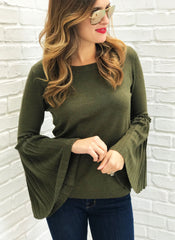 Chase Sweater in Olive