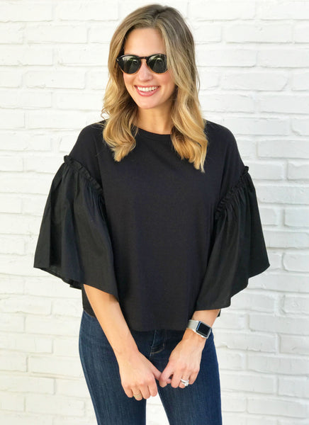 Cady Top in Black