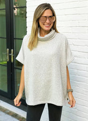 Ashley Poncho Top
