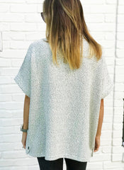 Ashley Poncho Top RESTOCK! (Ships 1 Week)