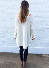 Gilley Top in Ivory