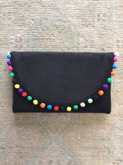 Dalia Clutch in Black