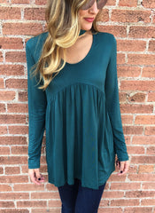 Tucker Top in Teal