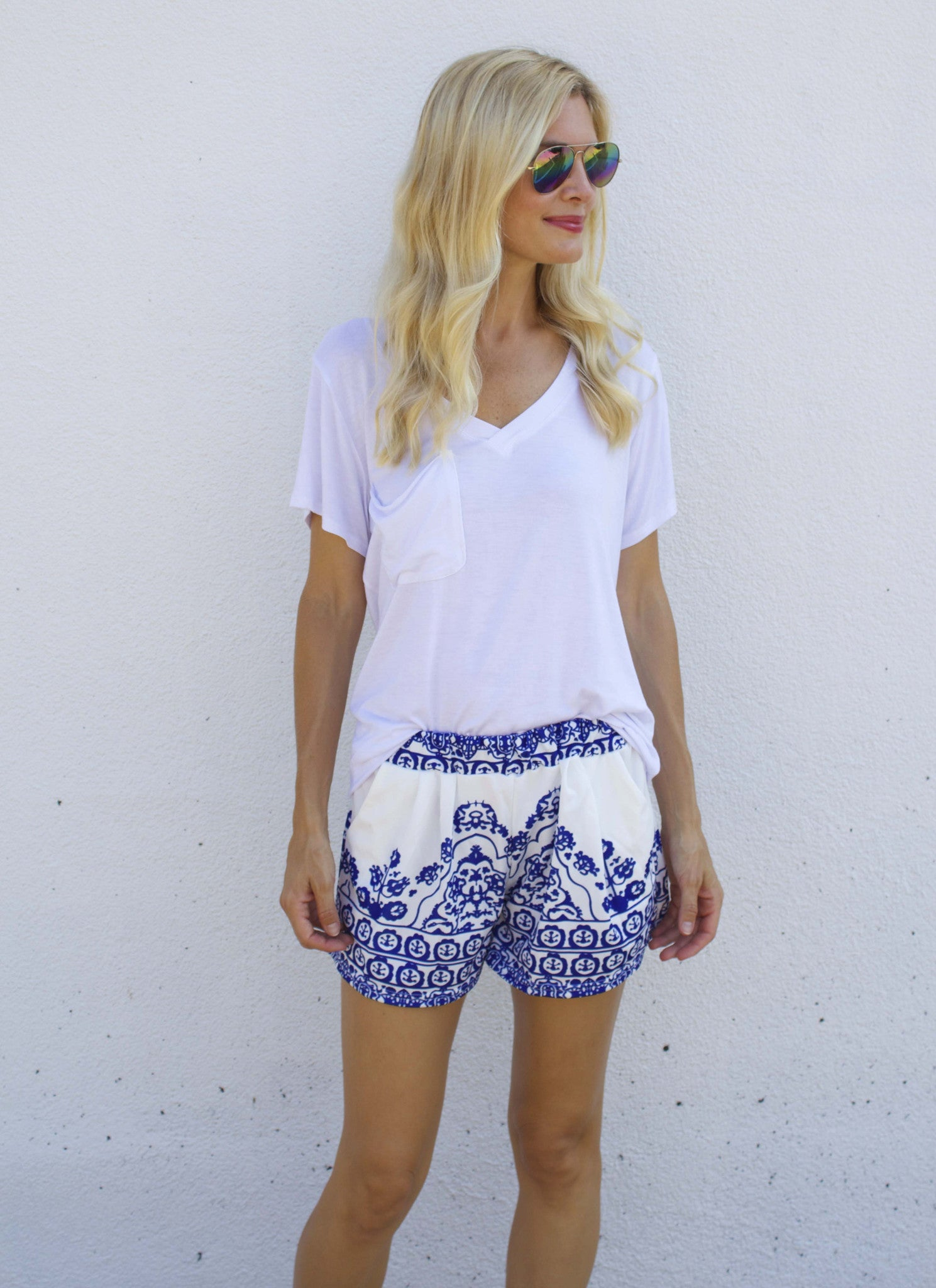 Porcelain Shorts