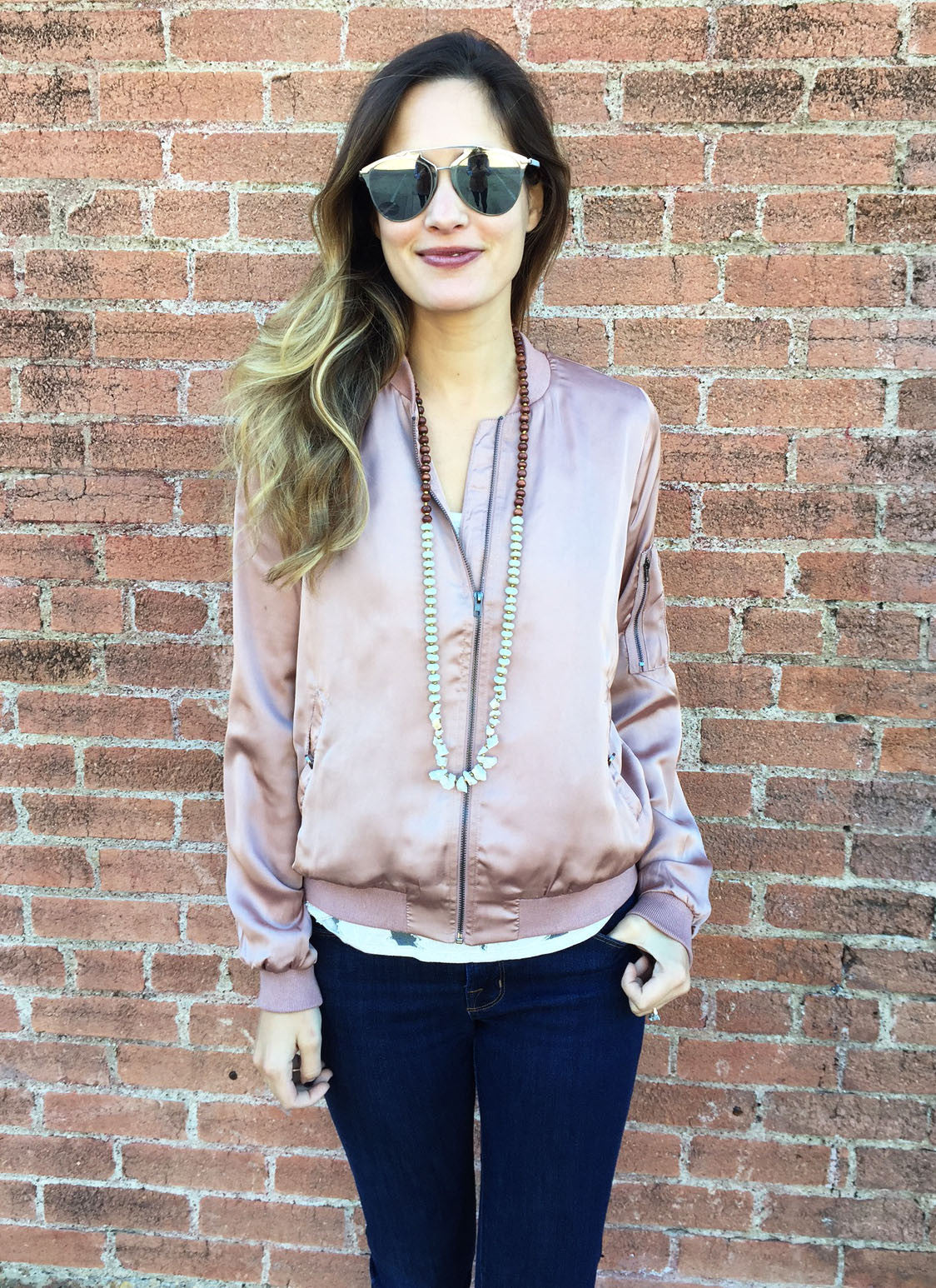 Kennedy Jacket in Blush
