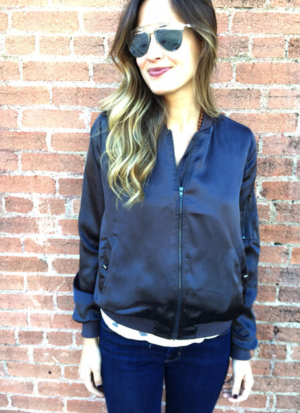 Kennedy Jacket in Charcoal