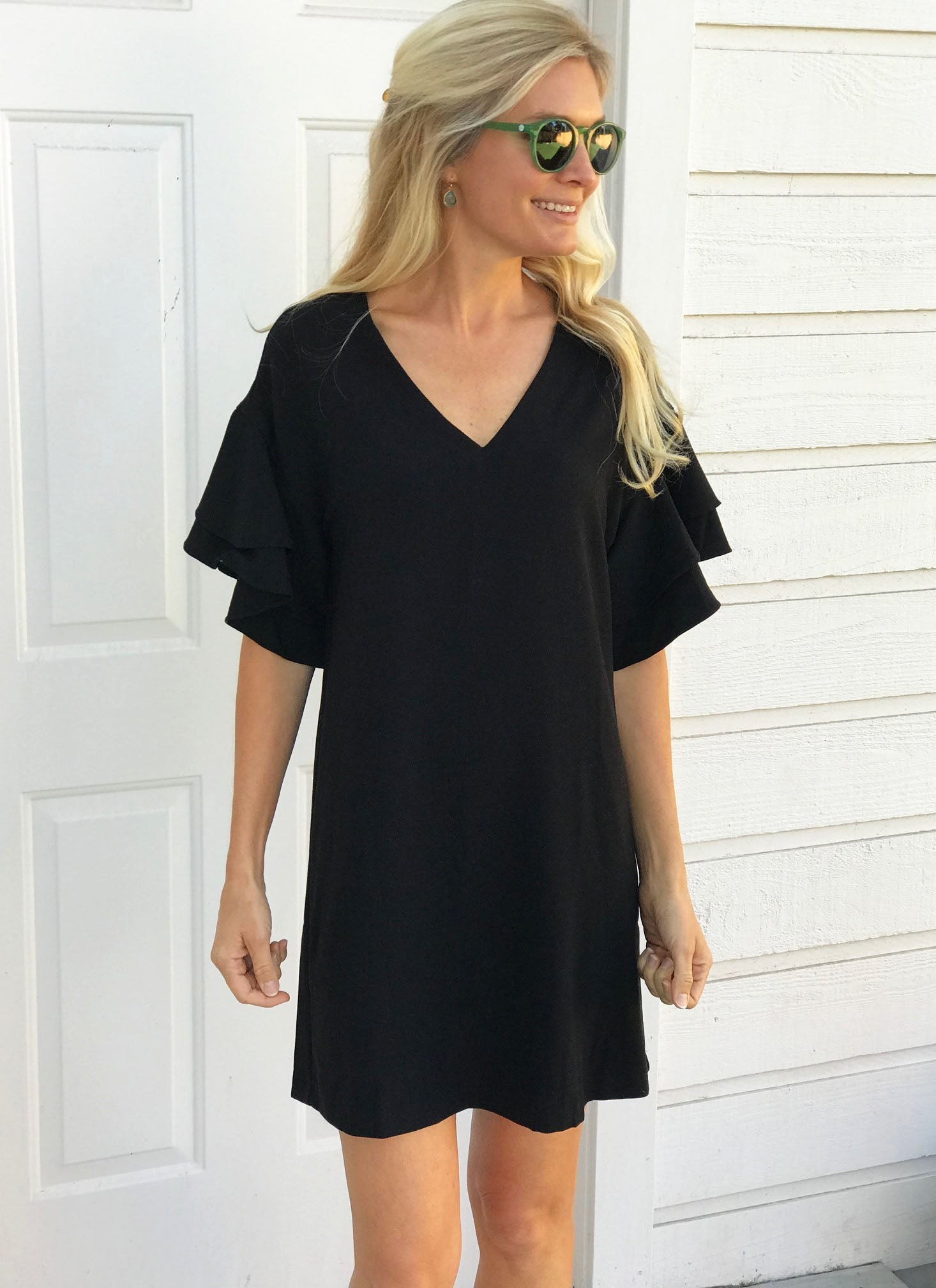 Christina Dress in Black