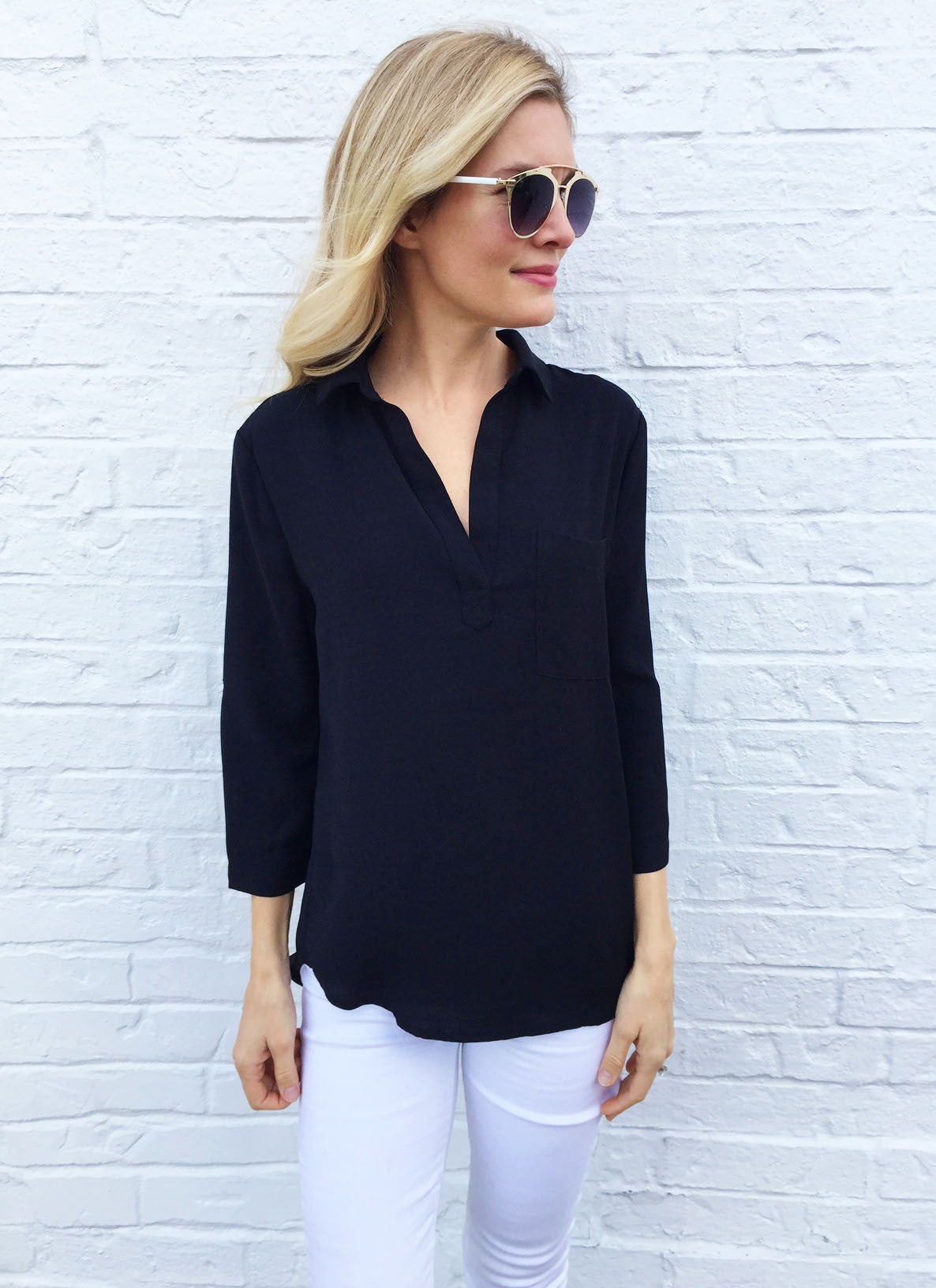 Terrell Top in Black