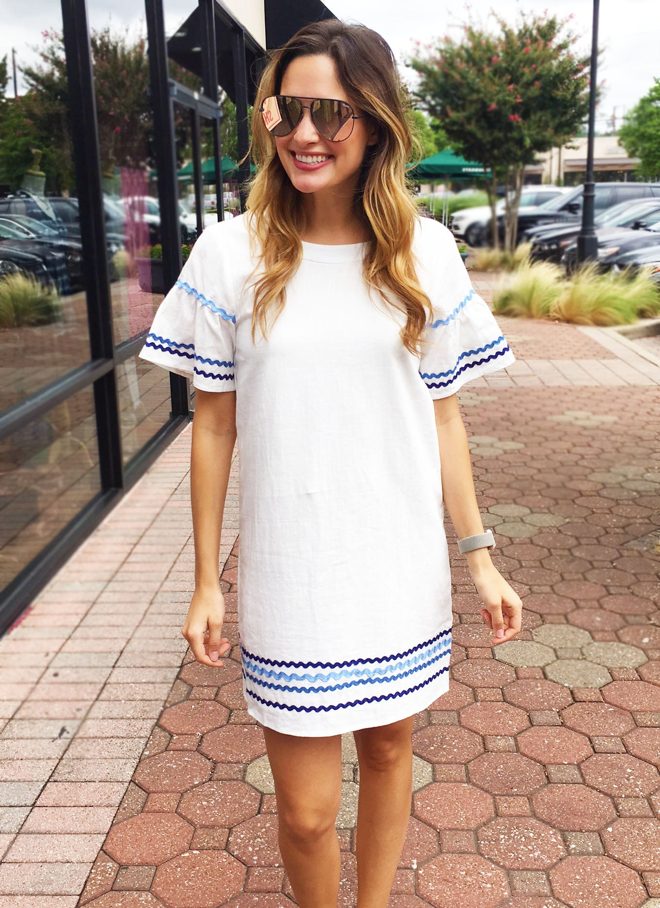Hartman Dress in White
