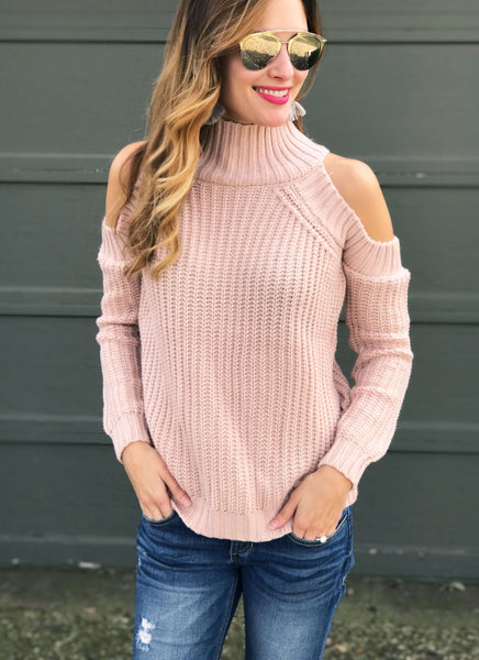 Ines Sweater in Blush