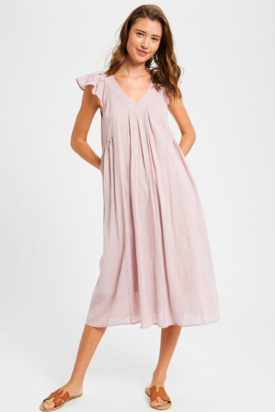 Margaux Dress in Pink