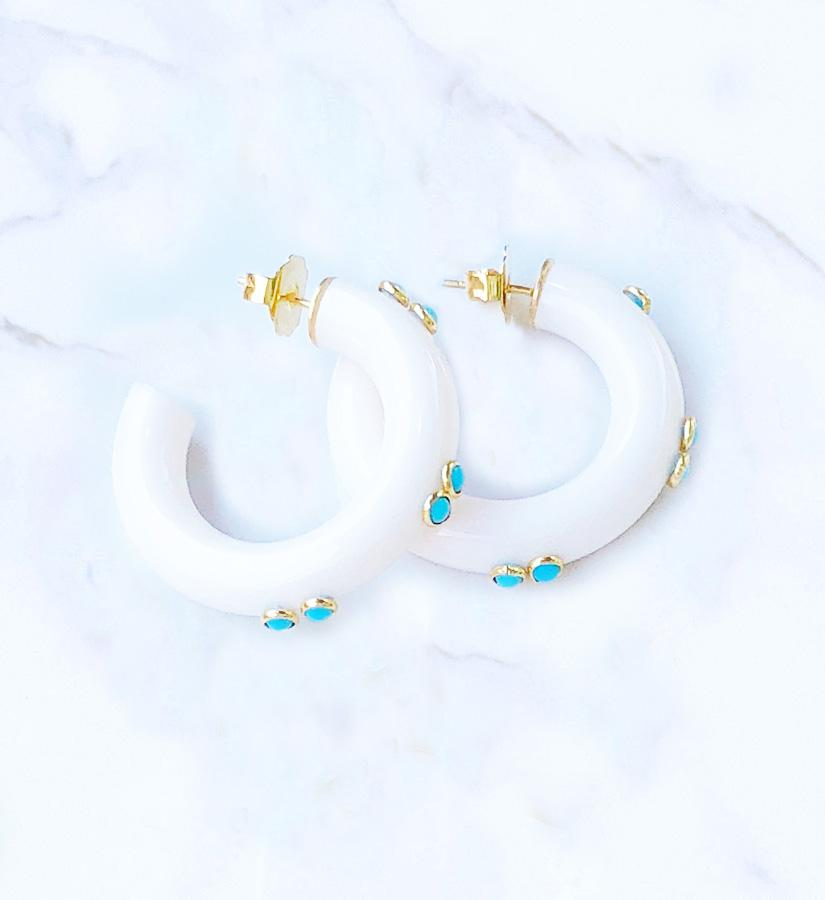 Maya Earrings (ships 2 weeks)
