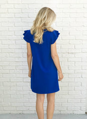 Belle Dress in Blue