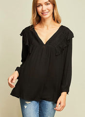 Kaleigh Top in Black