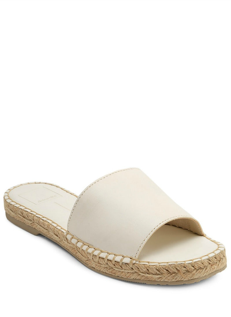 Bobbi Leather Slide
