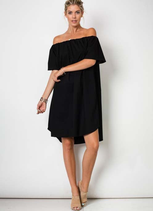 Gloria Dress in Black