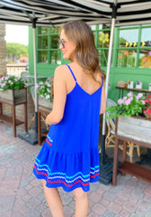 Sonia Dress In Blue PRE ORDER