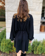 Dannie Dress in Black