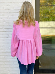 Julianne Top in Pink