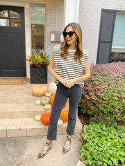 Brittany Top in Stripe