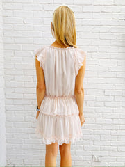 Chrissy Dress in Peach