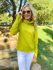 Nina Sweater in Lime