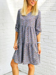 Jessie Quarter Sleeve Dress