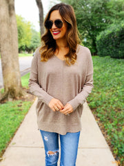 Evelyn Sweater in Mocha