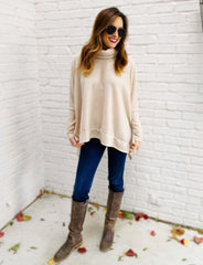 Cade Sweater in Oatmeal
