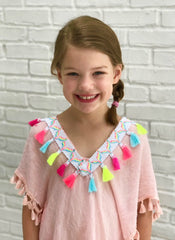 Grayson Girl's Tunic in Pink