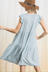 Jessie Dress in Light Blue (Ships Early to Mid March)