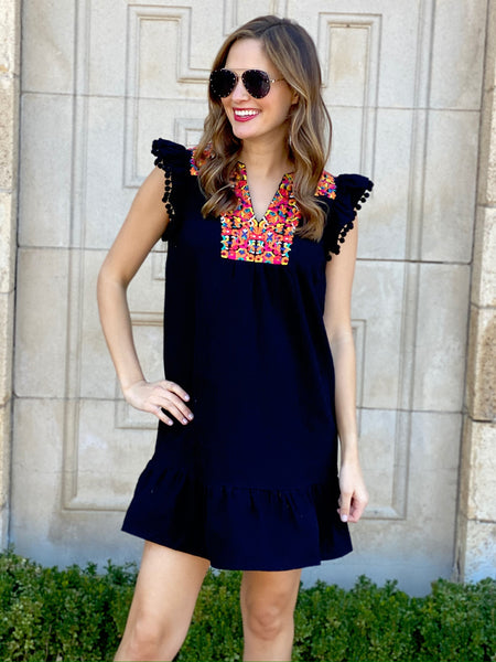 Aviva Dress in Black