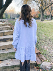 Mason Dress in Heather Grey