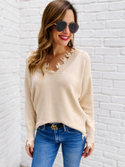 Tierney Sweater in Beige