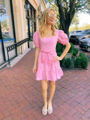 Rives Dress in Pink
