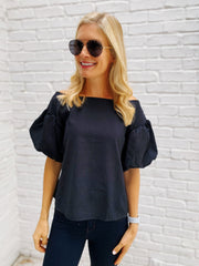 Golda Top in Black