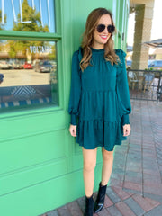 Hicks Dress in Green