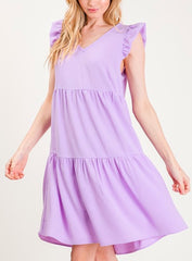 Jessie Dress in Lavender