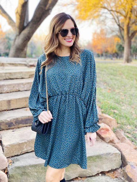Dannie Dress in Green