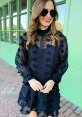 Kay Dress in Black