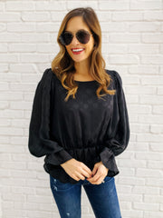 Reese Top in Black
