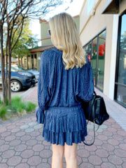 Cosme Dress in Blue