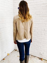 Wade Jacket in Stone