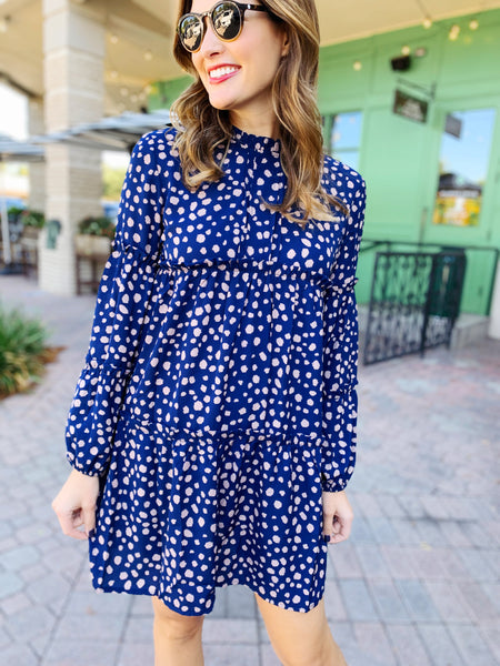 Jovie Dress in Navy