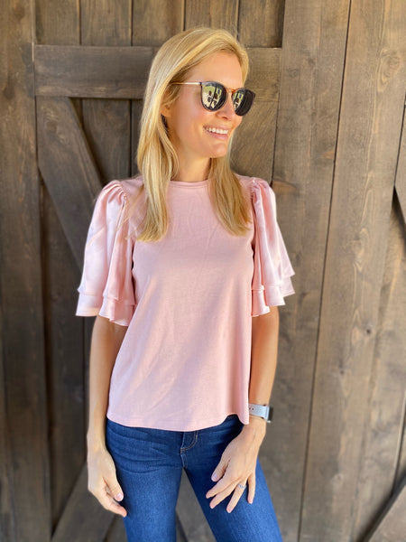 Cecilia Top in Pink