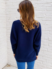 Margo Top in Navy