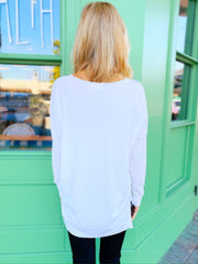 Evelyn Sweater in Off White