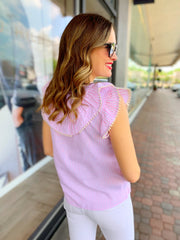 Stella Top in Pink